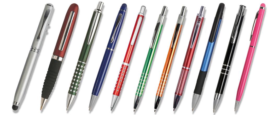penna alluminio e metallo