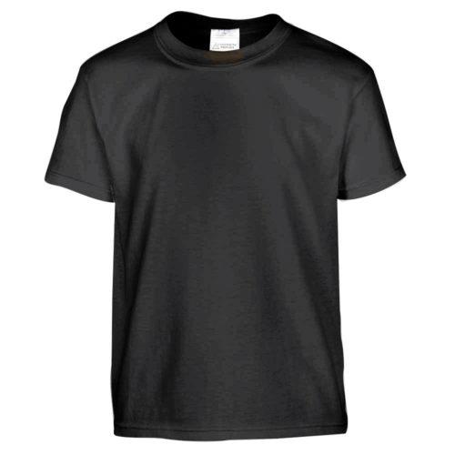 t-shirt uomo nera