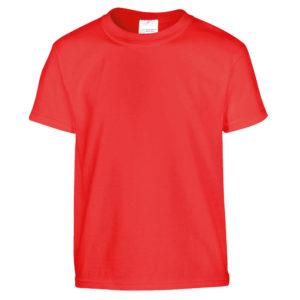 t-shirt rossa