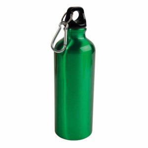 borraccia in alluminio verde