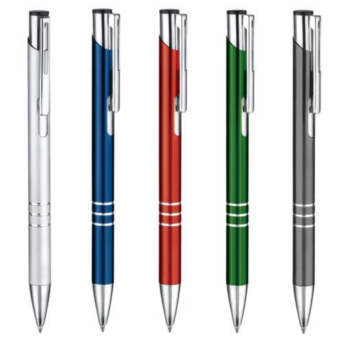 penna a sfera fusto anodizzato