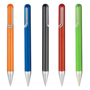 penna con clip sagomata