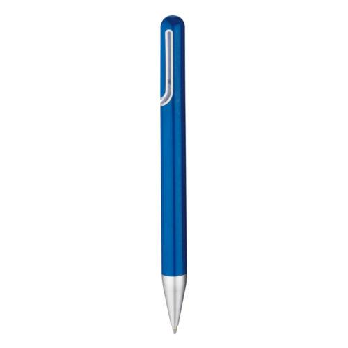penna a sfera blu inchiostro nero