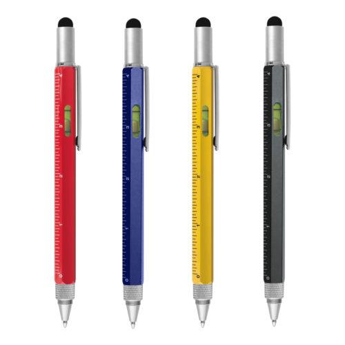 Penna in Alluminio multifunzione