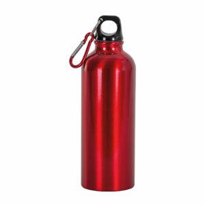 borraccia alluminio 750 ml rossa