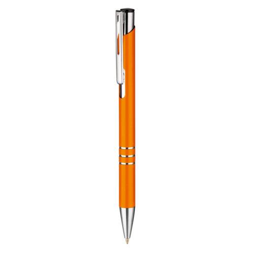 penna sfera in alluminio arancione