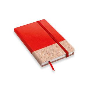 Quaderno appunti finitura in sughero