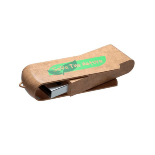 chiave USB in plastica riciclata